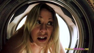 Step Mom is Stuck in the Dryer and Fucked by her Son – Nikki Brooks